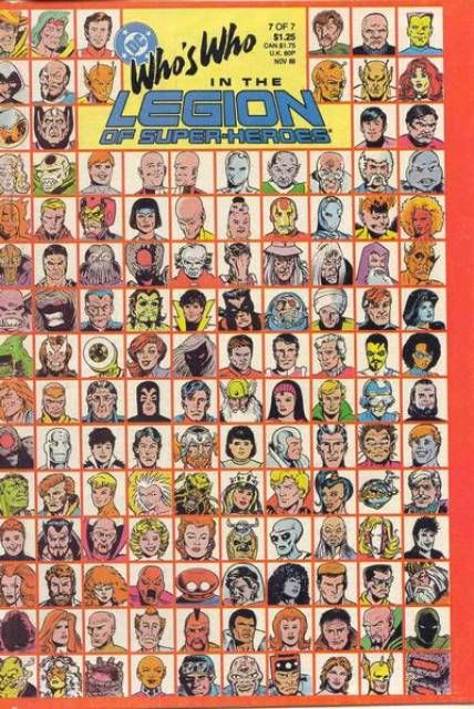 Who's Who in the Legion of Super-Heroes #1 - The Definitive Guide to the 30th Century's Greatest Heroes! (Issue)