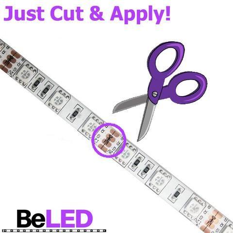 Beled Led Light Strip Installing Led Strip Lights Strip Lighting Led Light Strips