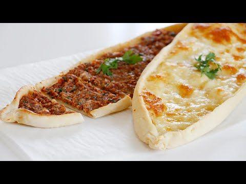 طريقة تحضير الفطائر التركية الشهيرة باللحم والجبن Pide Youtube Savory Appetizer Food Finger Foods