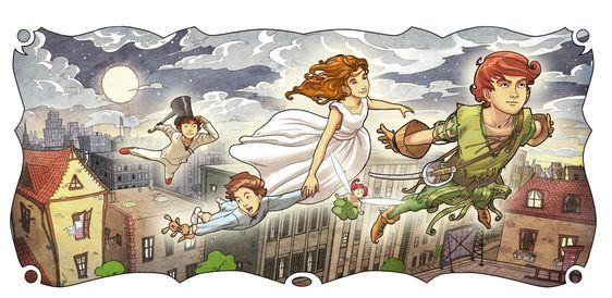 Peter Pan And Wendy 3 / by ~Giacobino