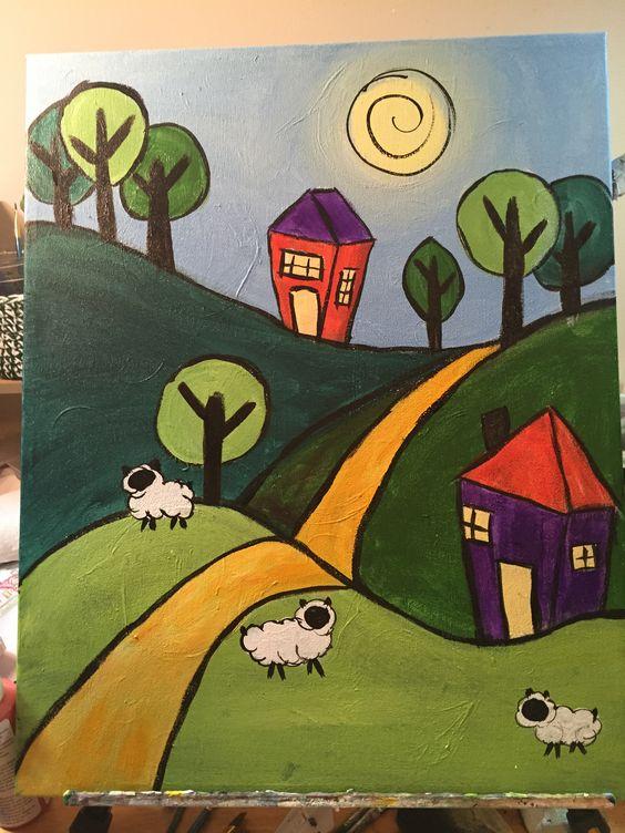 Cara menggambar rumah untuk anak SD kelas 2