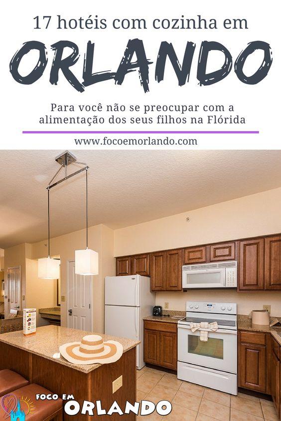 Hotéis com cozinha em Orlando