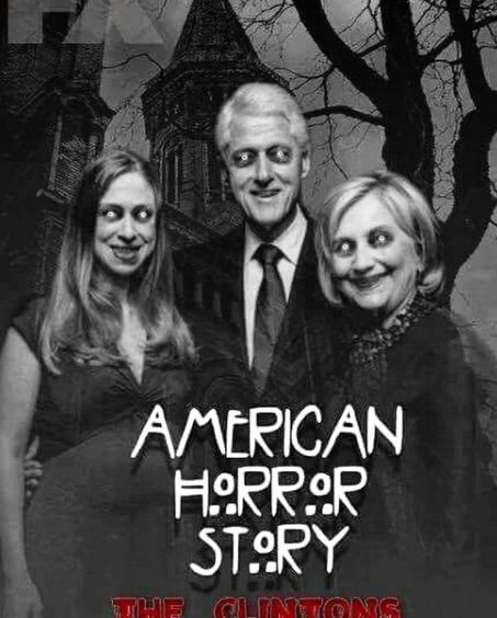 american horror story election trump hillary clinton