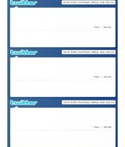 twitter feed template - Google Search | School Stuff | Pinterest ...