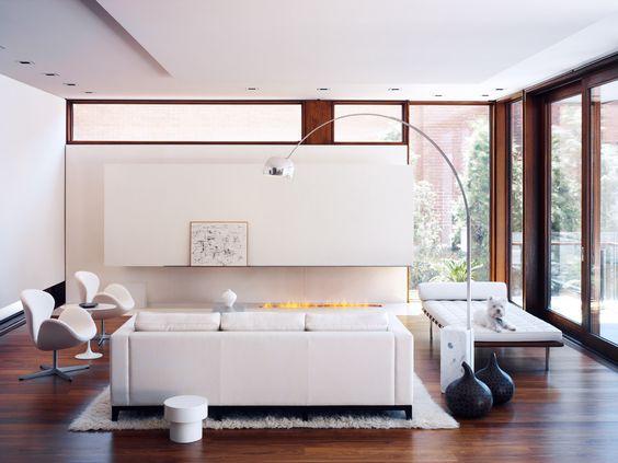 House on Ravine, Toronto. Interior design by Studio Munge.