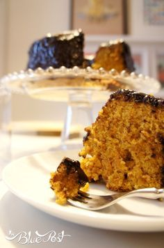 Receita (muito fácil): bolo integral de cenoura