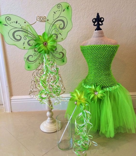 Tinkerbell Tutu, Tinkerbell Costume, Fairy Wings, Tinkerbell Dress, Tinkerbell Party, Fairy Costume, Tinkerbell Party Favors, Fairy Party