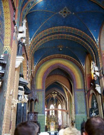 Franciscan Church (Kosciol Franciszkanow): Kosciol Franciszkanow, interno