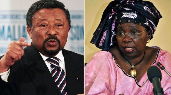 Konkurrenten: Jean Ping (links) und Nkosazana Dlamini-Zuma