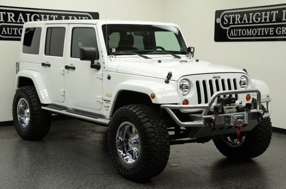 2012 white jeep wrangler unlimited sahara... yes pleaseee ════════════════════════════ http://www.alittlemarket.com/boutique/gaby_feerie-132444.html ☞ Gαвy-Féerιe ѕυr ALιттleMαrĸeт   https://www.etsy.com/shop/frenchjewelryvintage?ref=l2-shopheader-name ☞ FrenchJewelryVintage on Etsy http://gabyfeeriefr.tumblr.com/archive ☞ Bijoux / Jewelry sur Tumblr