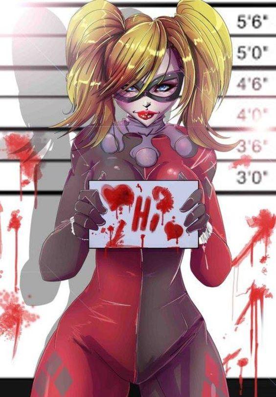 Harley Quinn aka Harleen Quinzel from DC Comics