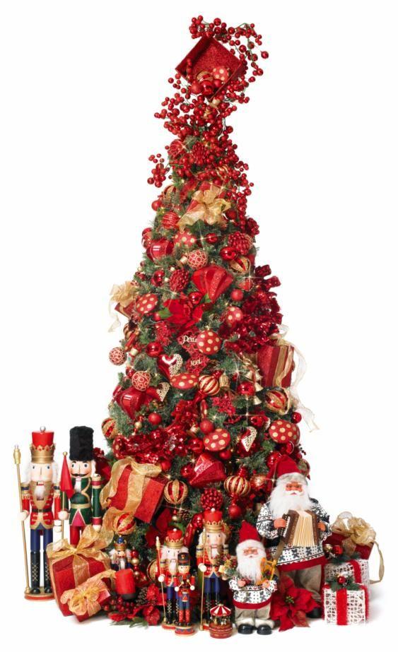Rouge Rendition Christmas Tree: Hoildays Ideals, Luxury Trees, Trees Decor, Festive Decor, Christmas Decor, Christmas Ideas, Christmas Trees, Holidays Christmas