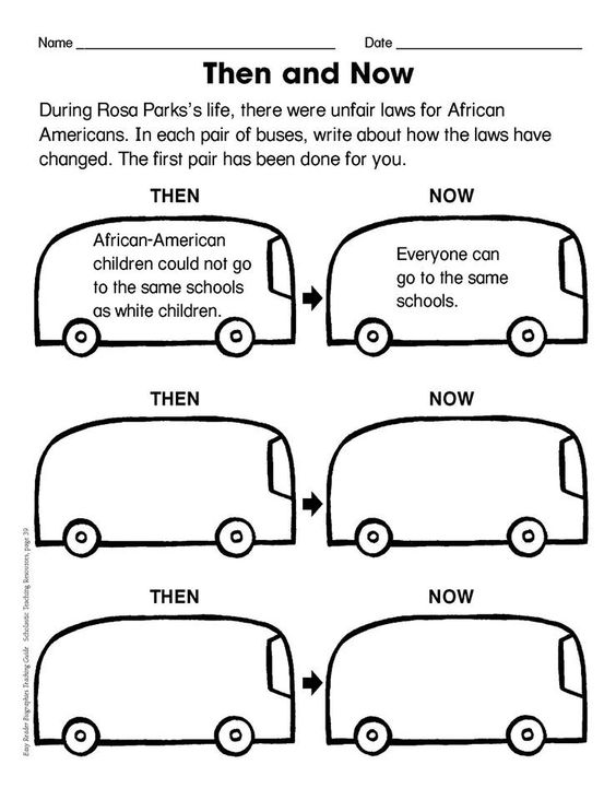Printables Rosa Parks Worksheets teach your students about rosa parks a woman who claimed her seat and changed our history forever with this lesson plan work