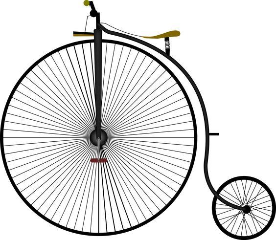 penny farthing bike Grand-Bi by luc