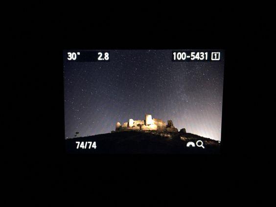 """Dia 40: """"fotografía nocturna en Almonacid"""" #Proyecto365 días, solo fotos con #Iphone6plus www.miguelonievafotografo.com"""