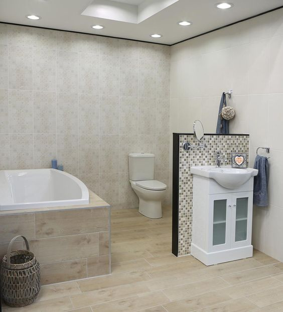 Bathroom designs at ctm : Ctm product image caoba natural floor tile badkamer