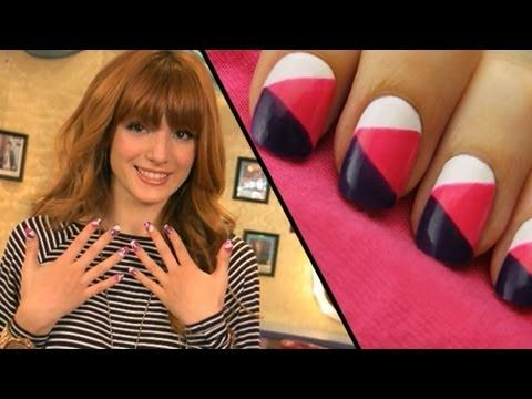 """Bella Thorne from the cast of Disney Channel's """"Shake It Up"""" inspires this exclusive CutePolish tutorial on how to create trendy color block nails!     A Disney Exclusive from CutePolish.     Let us know what your favorite nail style is in the comments below.     SUBSCRIBE to get notified when new nail design videos are posted!     Learn the magic of na..."""