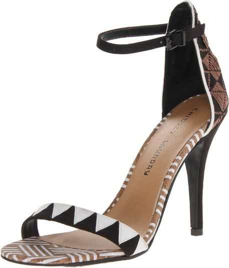 Chinese Laundry Women's LA Paz Dress Sandal,Brown/Multi,6 M US