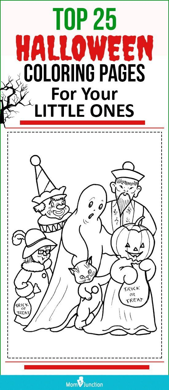 Halloween Coloring Pages Free Printables Momjunction Halloween Coloring Pages Halloween Coloring Coloring Pages