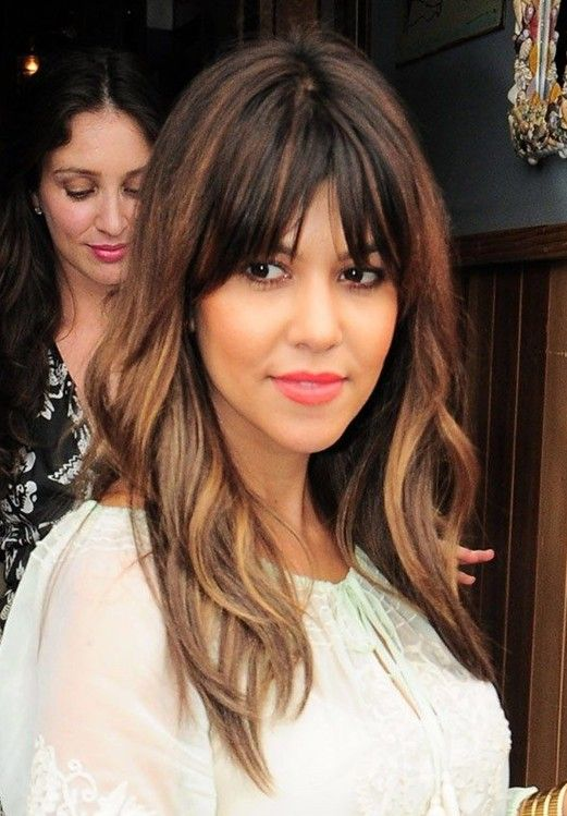 Superb Fringes Hair With Bangs And Layered Hairstyles On Pinterest Short Hairstyles For Black Women Fulllsitofus