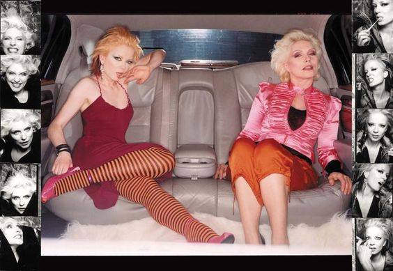 """Shirley Manson & Debbie Harry, 2003, July """"In Style"""" - by Franck Ockenfels"""