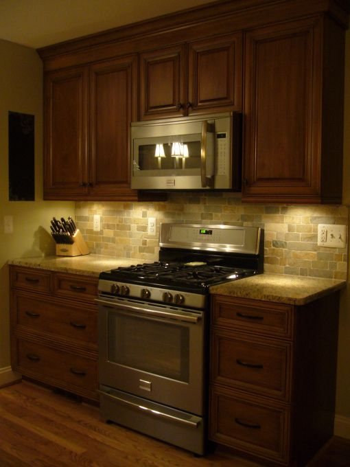 My house ceilings and under cabinet on pinterest for Kitchen cabinets 12x12