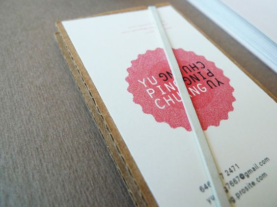 Yu Ping Chuang Business Card and Portfolio