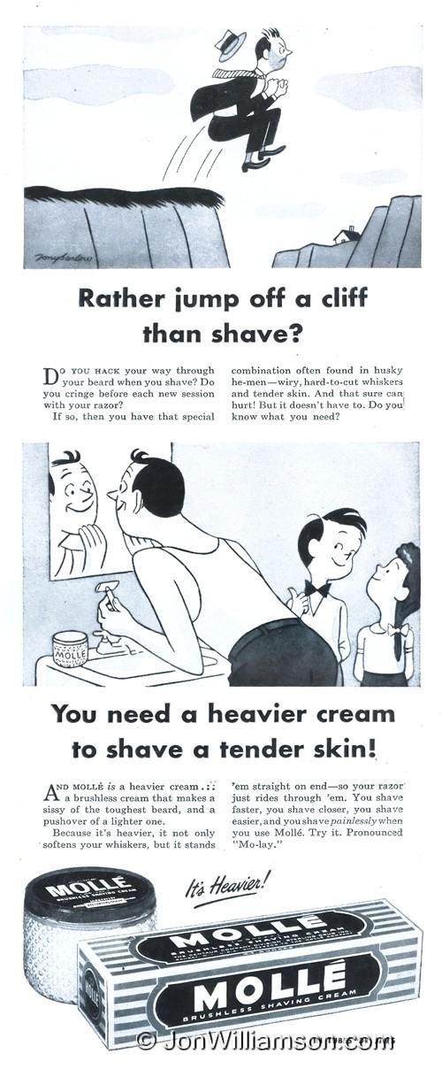 Molle Shaving Cream