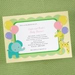 find adoption baby shower invitation wordins for infants, baby, and older child, guaranteed to impress at InvitationsByU.com