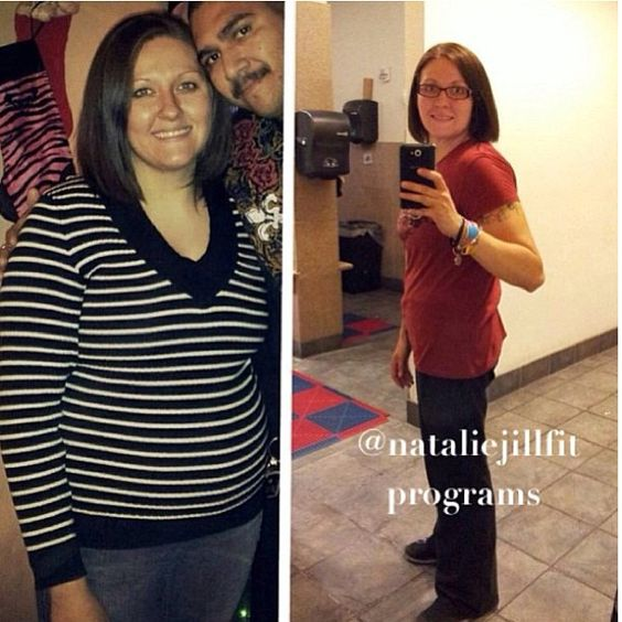Another inspiring transformation! GO Corrina!  NO EXCUSES with her! 6 months- 41 lbs gone! She followed my jump start program, stayed committed to the process, stayed consistent and made it a lifestyle! Down 41 lbs!! Progressing into a fitter, happier her! http://nataliejillfitness.com/  #fitness #workout #exercise #fatloss  #weightloss #core #abs  #nataliejillfit #nataliejill #exerciseplan #workoutplan  #commited #goals #changeyourbody #motivated #motivation