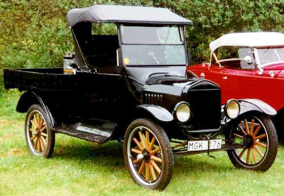 Cool old 1923 Ford Model T !