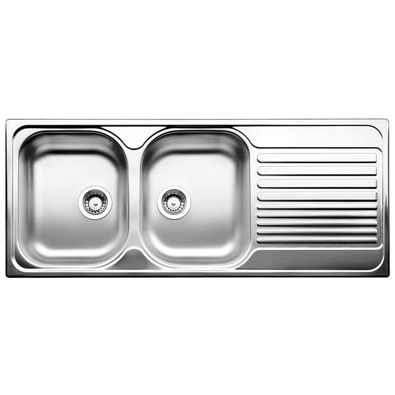Blanco Sink Bunnings : Blanco Tipo 80cm Left Hand Double Bowl Drainer Inset Sink Renovation ...