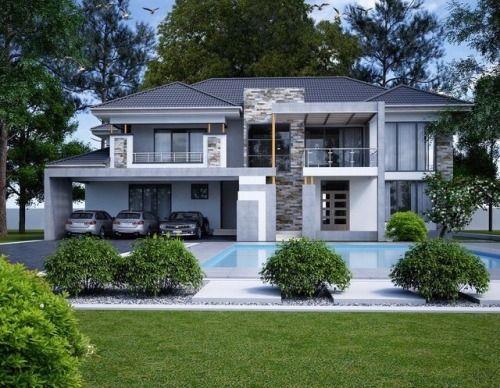 Fantastic Living House Exterior Beautiful House Plans Facade House