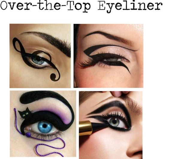 Talk about it Tuesday: Trends that are just too Much - Crazy Eyeliner Trends