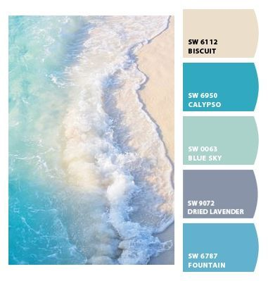 Paint Colors From Colorsnap By Sherwin Williams Beach Color