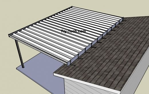 Charming Interesting How It Attaches Over The Roof. From: Standard Aluminum Patio  Cover Kits Aluminum