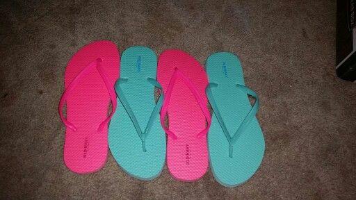 Got my Old Navy flip flops! C'mon Summer! !