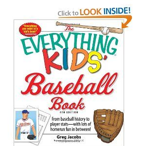 The Everything Kids' Baseball Book: From baseball history to player stats - with lots of homerun fun in between! (Everything Kids Series) $8.95/prime
