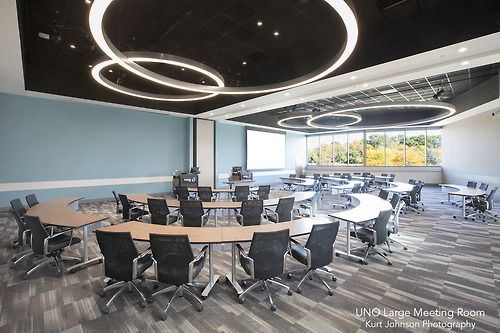 UNO Large Meeting Area-Barbara Weitz Community Engagement Center  http://www.kurtjohnsonphotography.com/: