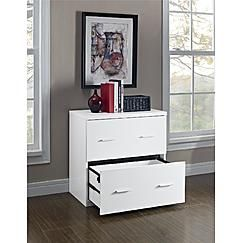 Dorel Home Furnishings Princeton Lateral File Cabinet, Multiple Colors