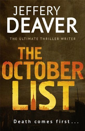 The October List by Jeffery Deaver, http://www.amazon.co.uk/dp/1444780433/ref=cm_sw_r_pi_dp_cBTksb198GFPT