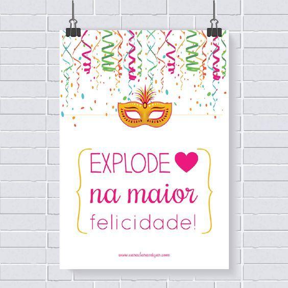 Poster Gratis Carnaval Festa Tematica Carnaval Convites De