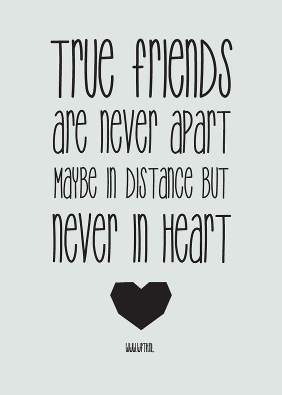 Quotes About Friendship Distance Classy 32 Meaningful Quotes For Your Best Friend  True Friends Distance