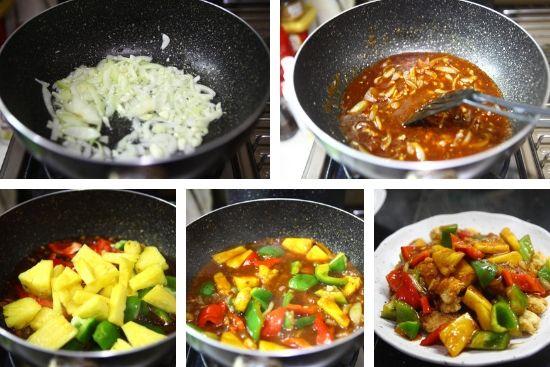 Resep Dori Asam Manis Jtt Sayuran Paprika Pasta