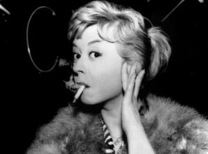 LOVE Giulietta Masina as Cabiria in Federico Fellini film, Le notti di Cabiria (Nights of Cabiria)