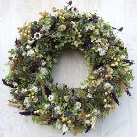 Wianek Hortensji Czar Pakamera Pl Christmas Wreaths Floral Wreath Holiday Decor