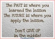 DON'T GIVE UP.....