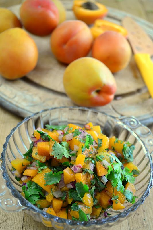 The view from Great Island: Apricot Salsa (use on fish)