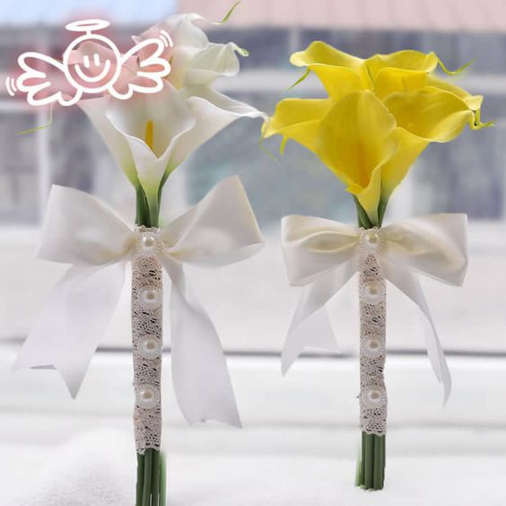 Find More Wedding Bouquets Information about 2015 Bridesmaid Bouquet Artificial Calla Lilies Wedding Bouquets Real Touch Bouquet Wedding Bridal Decor Display Flower,High Quality display belt,China flower pictures to paint Suppliers, Cheap display frame from Suzhou Bestbridaldress Co.,LTD on Aliexpress.com