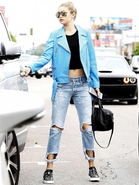 The 7 Best Celebrity Looks of the Week | Boyfriend jeans Black